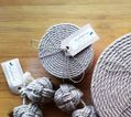 Rope and Cork Coasters